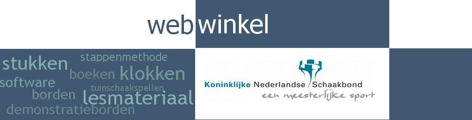 De webwinkel van de Koninklijke Nederlandse Schaakbond KNSB