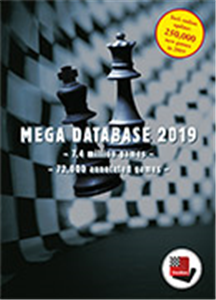 DVD Chessbase Mega Database 2019