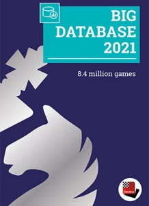 DVD Chessbase Big Database 2021