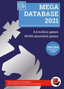 DVD Chessbase Mega Database 2021